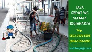 Jasa Sedot WC Jogjakarta Bergaransi murah dan profesional