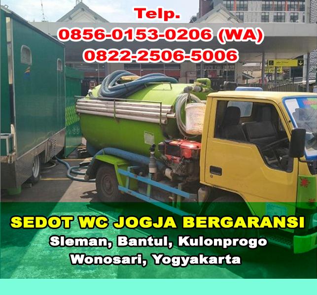 Harga Jasa Sedot WC di Jogjakarta